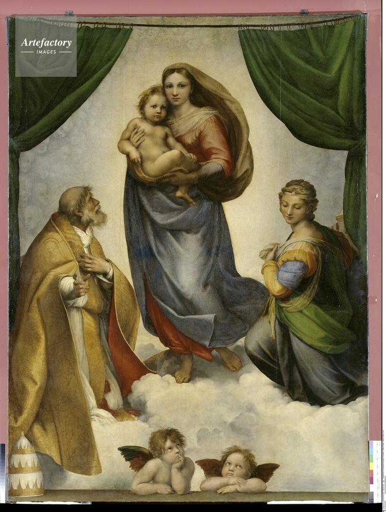 サン・シストの聖母(聖会話、システィーナの聖母) (Madonna Sistina ...