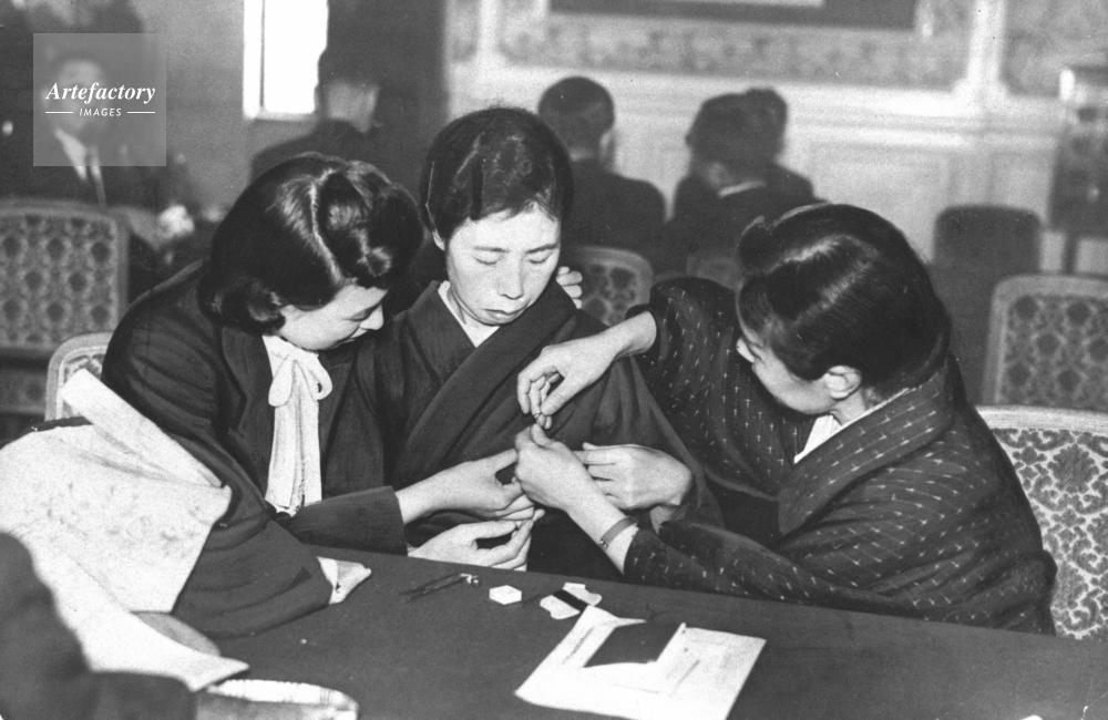 1946年 第90議会・女性議員初登院